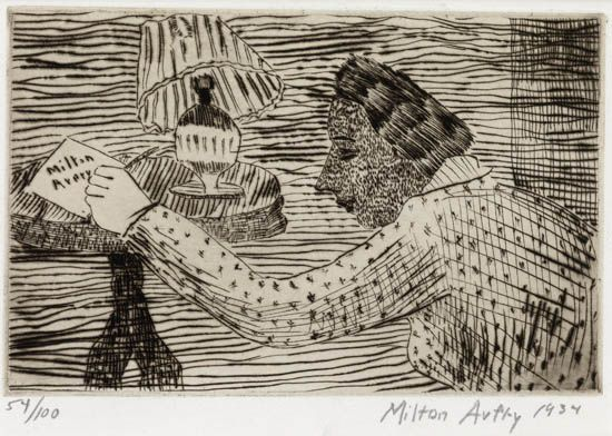 MILTON-AVERY-My-Wife-Sally