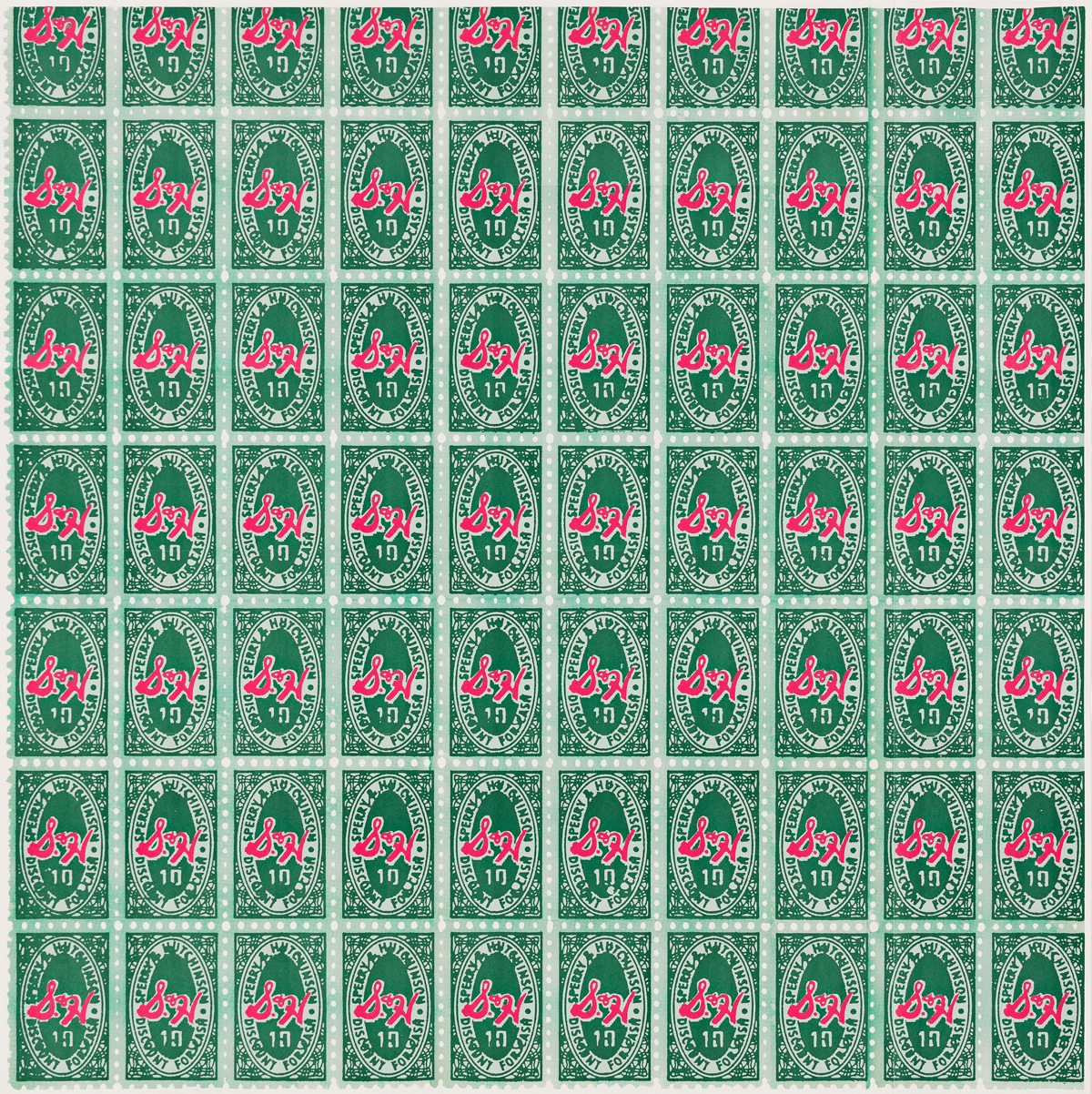 ANDY WARHOL S & H Green Stamps.