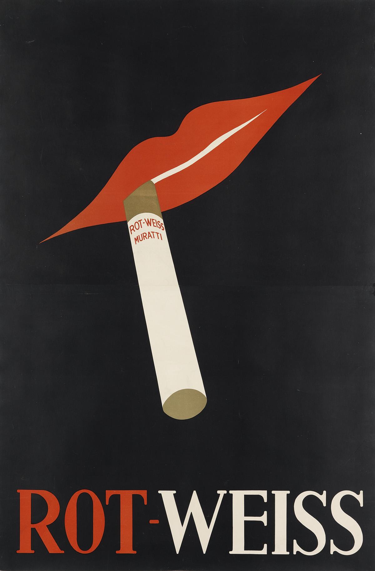 DESIGNER-UNKNOWN-ROT---WEISS-MURATTI-Circa-1931-56x37-inches