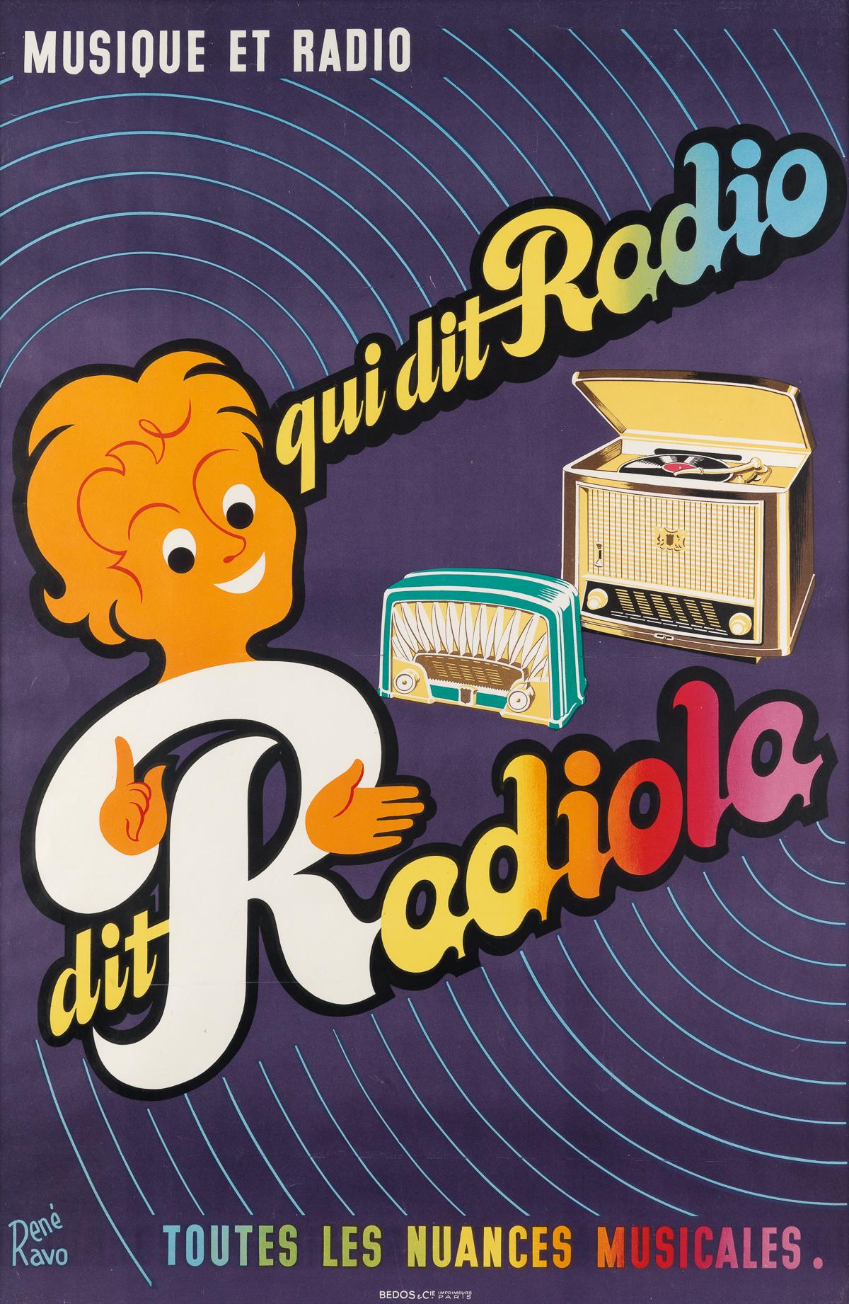 RENÉ-RAVO-(1904-1998)-MUSIQUE-ET-RADIO--QUI-DIT-RADIO-DIT-RA