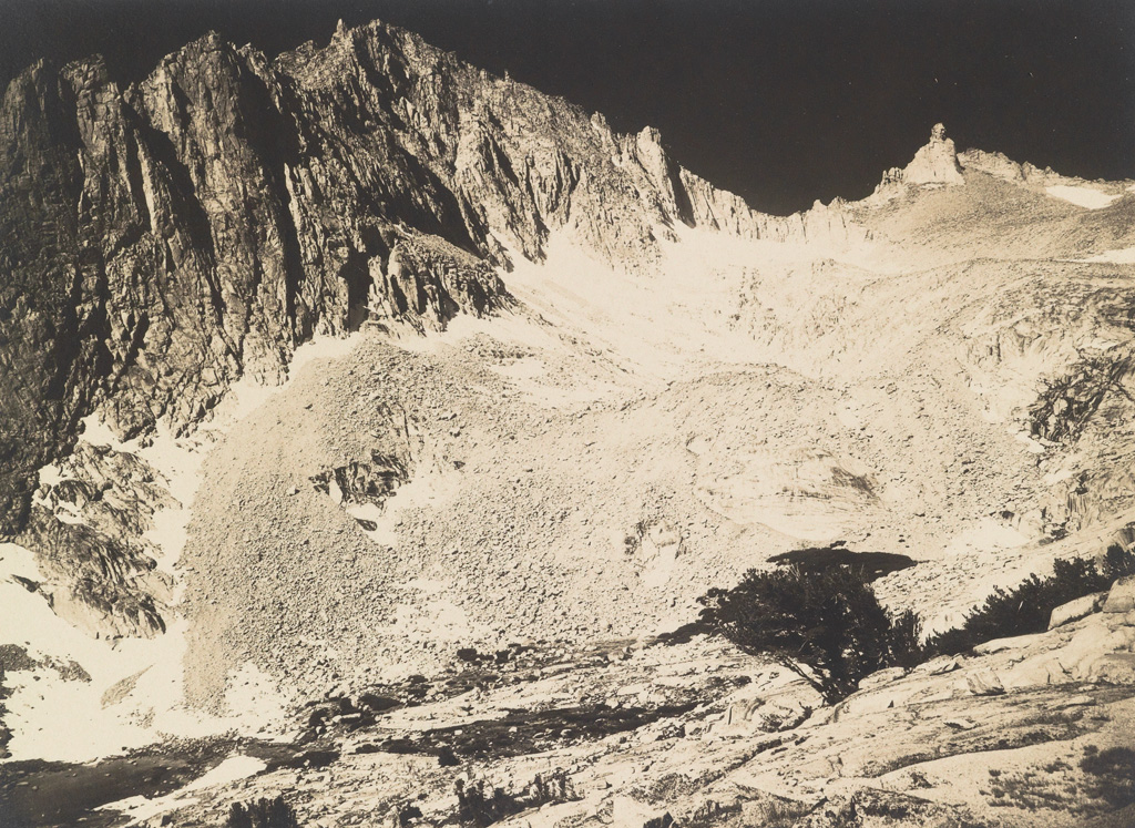 ANSEL ADAMS (1902-1984) Group of 5 vintage photographs, primarily taken on a 1927 Sierra Club outing into Sierra Nevada.