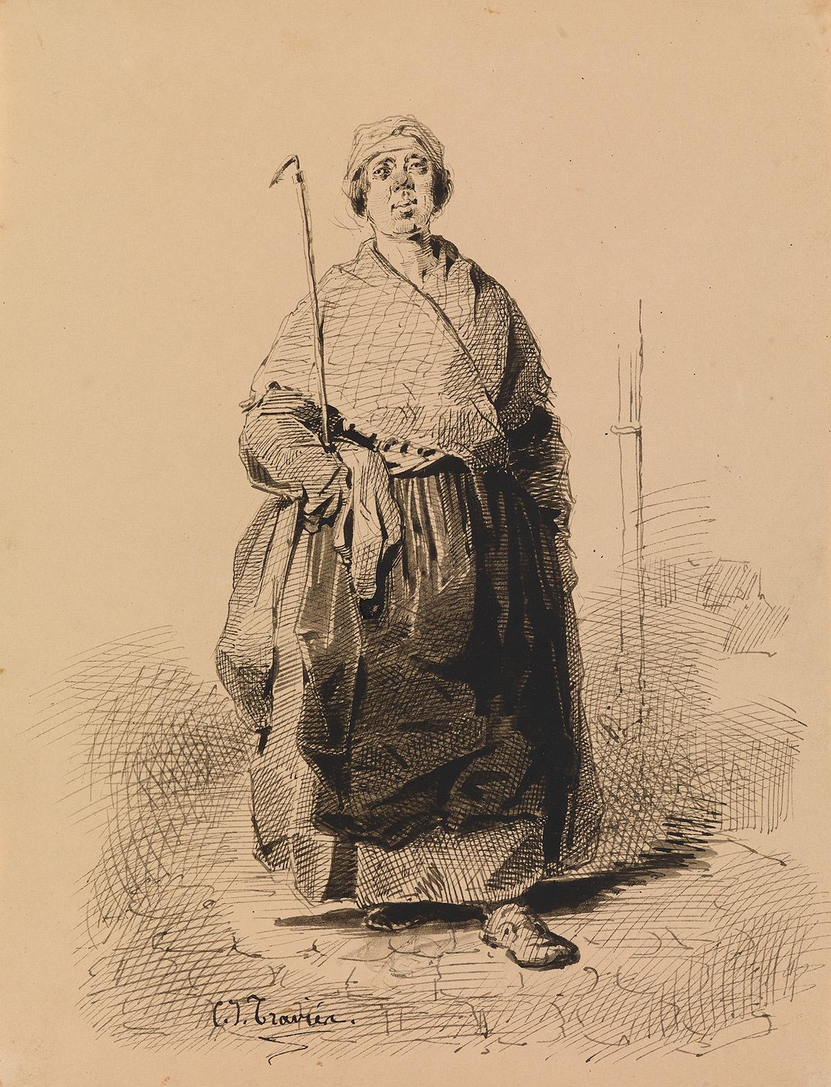 CHARLES-JOSEPH-TRAVIÈS-DE-VILLERS-(Winterthur-1804-1859-Pari