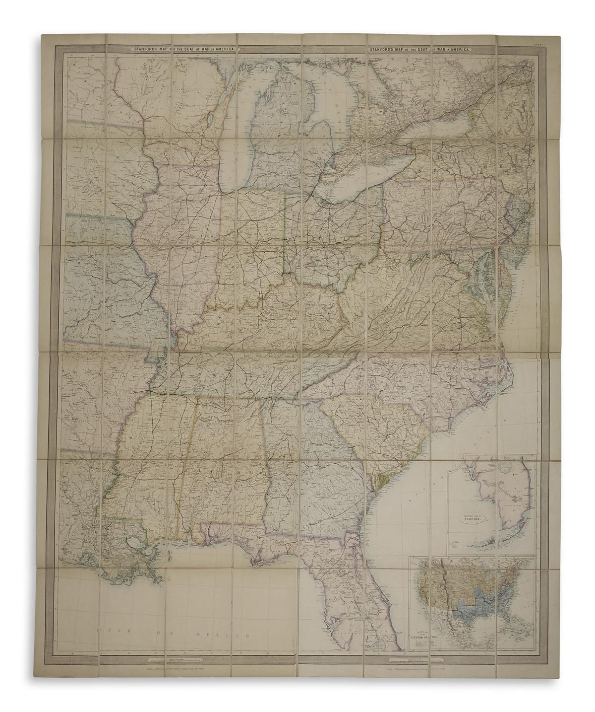 (CIVIL-WAR)-Stanford-Edward-Stanford's-Map-of-the-Seat-of-th