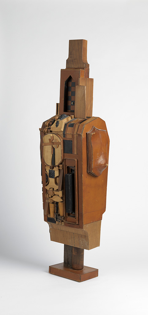 NOAH-PURIFOY-(1917---2004)-Untitled-(Standing-Figure)