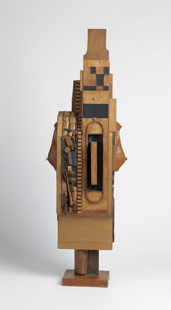 NOAH PURIFOY (1917 - 2004) Untitled (Standing Figure).