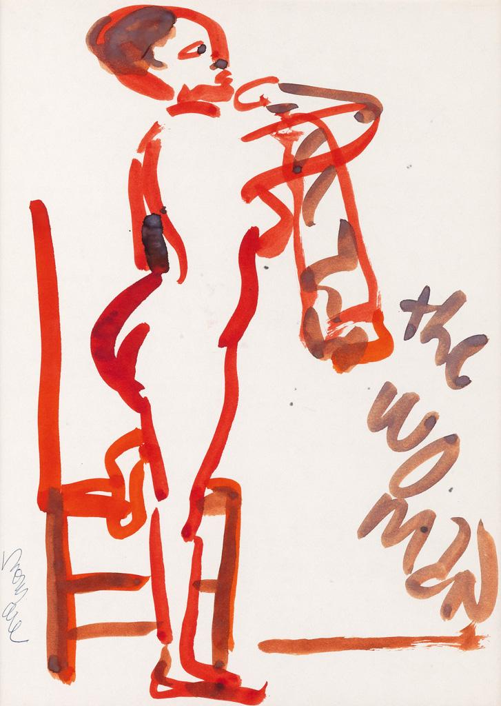 ROMARE BEARDEN (1911 - 1988) The Woman.
