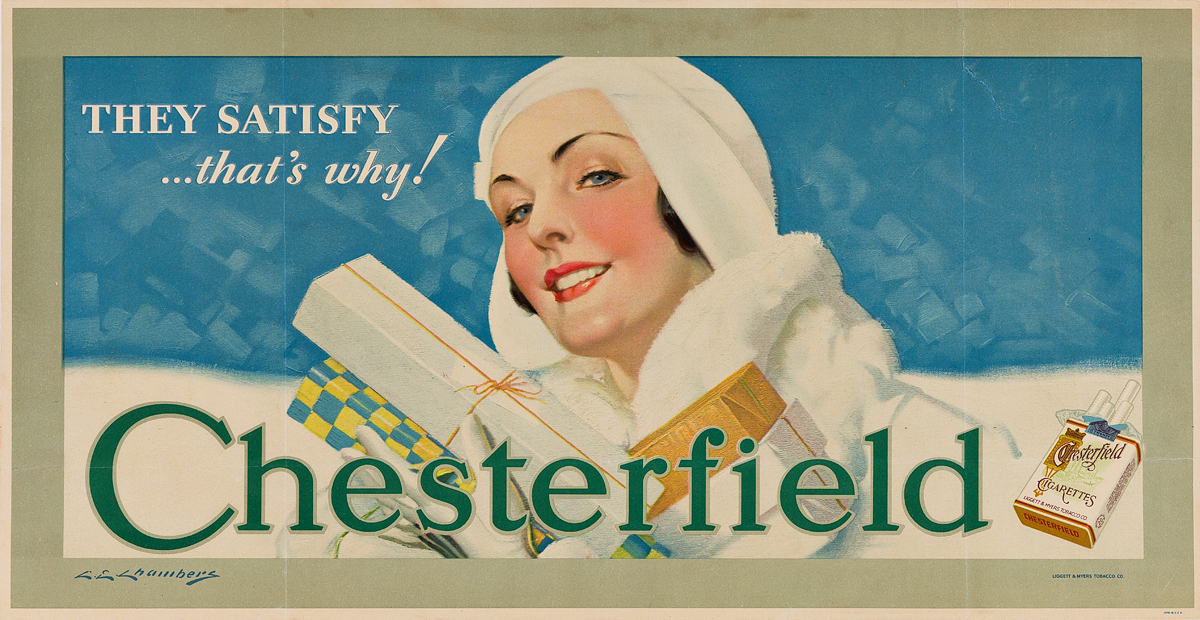 CHARLES-E-CHAMBERS-(1883-1941)-CHESTERFIELD-Group-of-3-poste