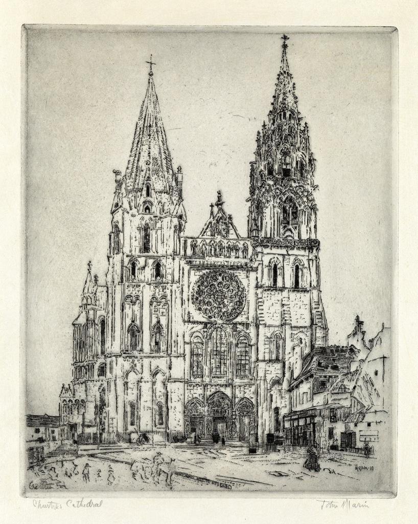 JOHN-MARIN-Chartres-Cathedral