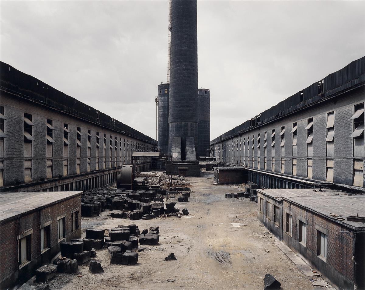 EDWARD BURTYNSKY (1955- ) Old Factories #1, Fushun Aluminum Smelter, Fushun City, Liaoning Province, China.