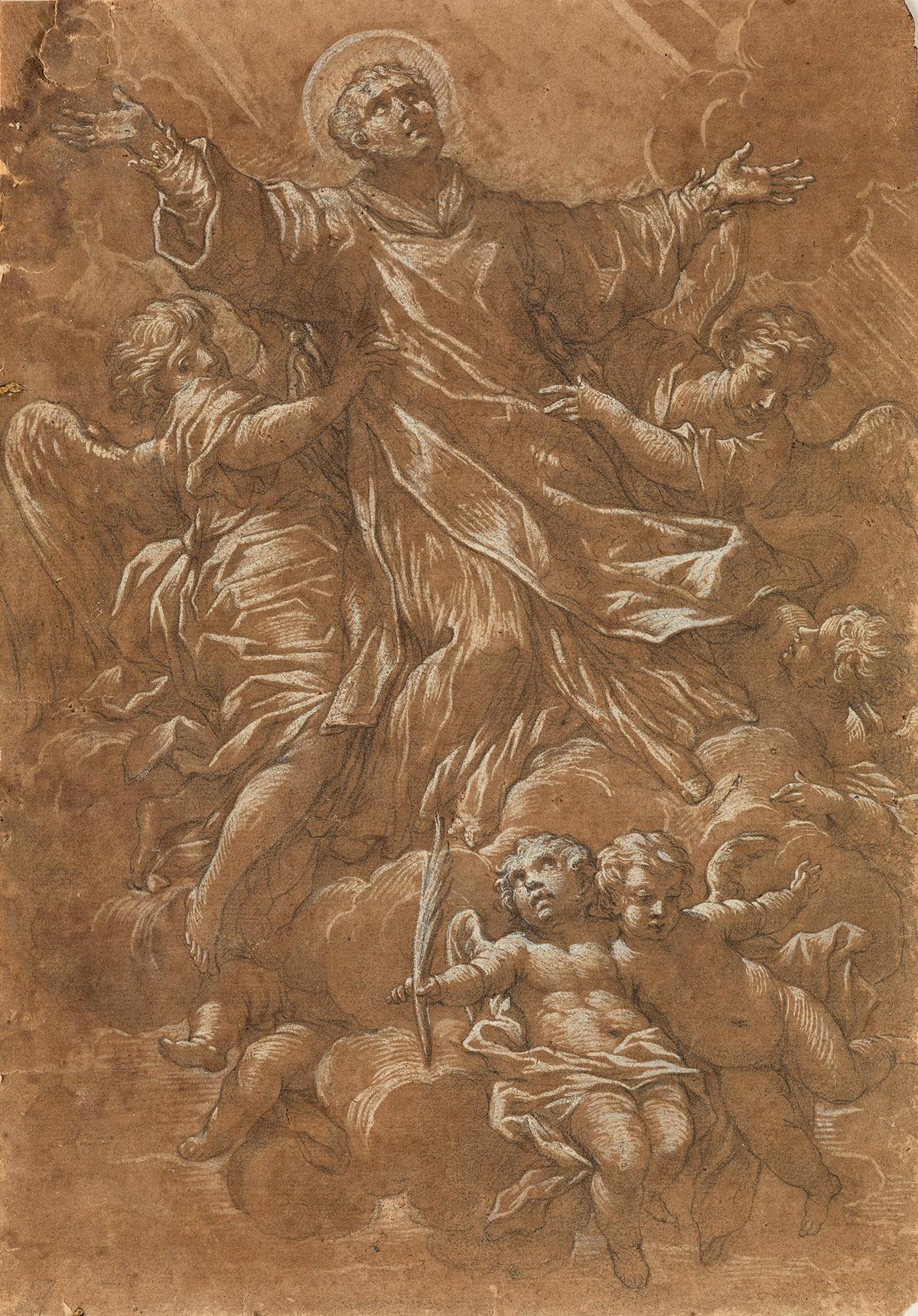 ANDREA-VACCARO-(Naples-1600-1670-Naples)-The-Apotheosis-of-a