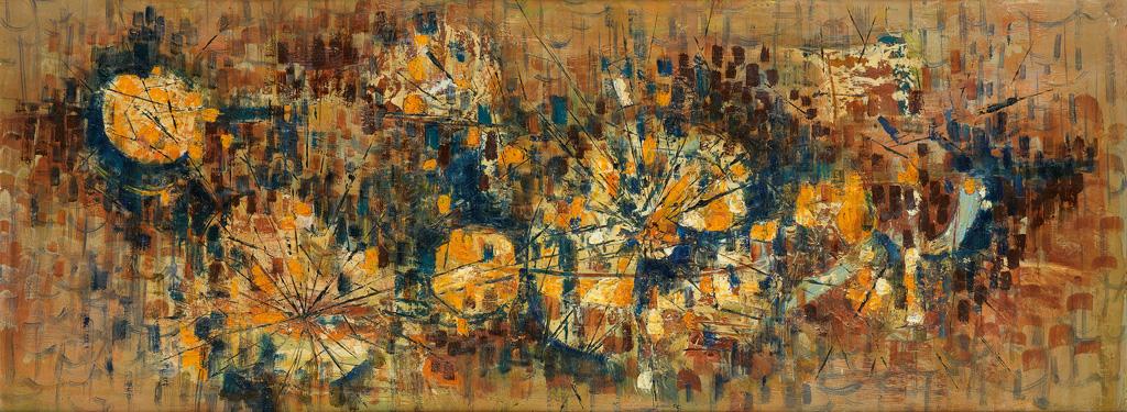 WILLIAM-E-ARTIS-(1914---1977)-Mosaic-in-Oil