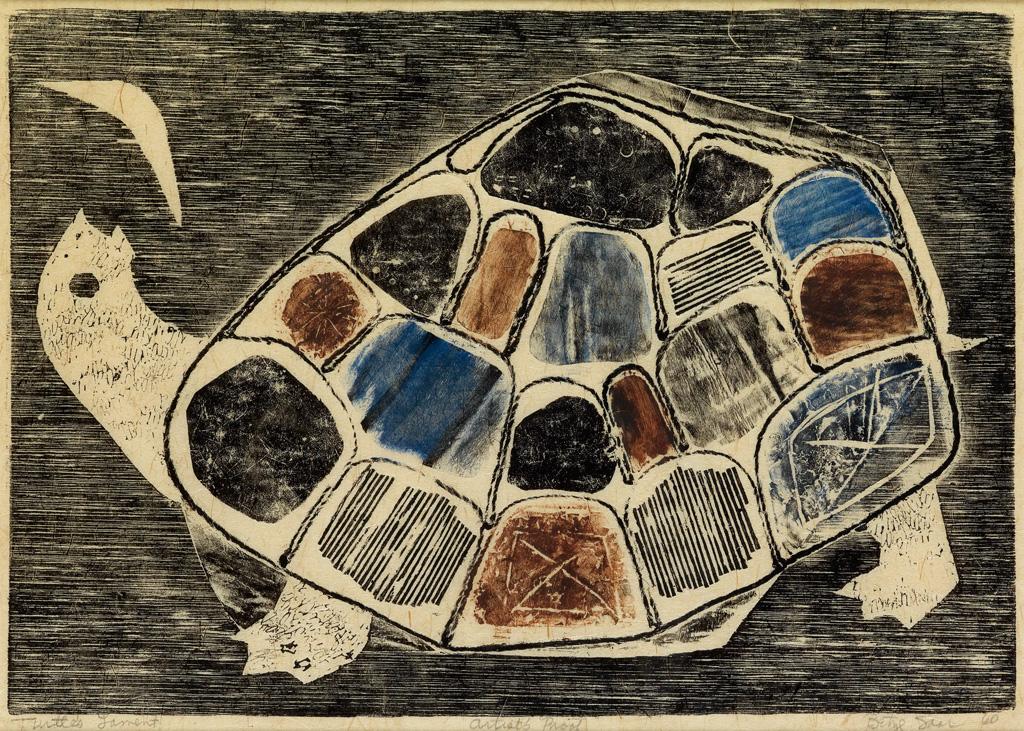 BETYE SAAR (1926 -   ) Turtles Lament.