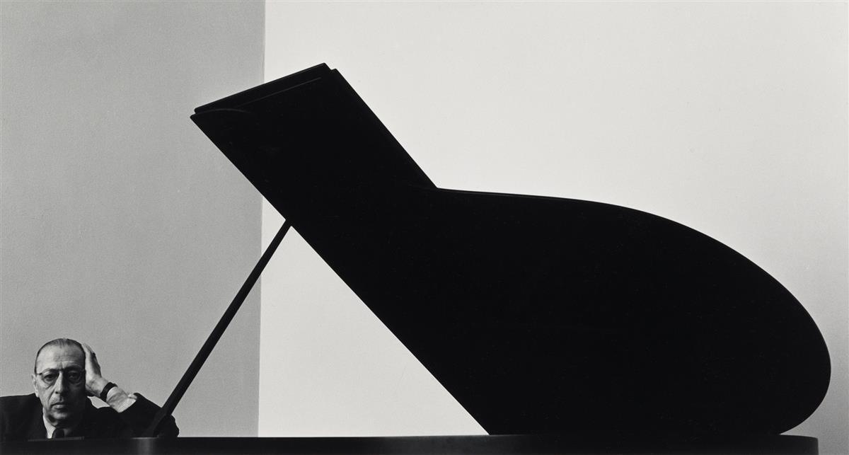 ARNOLD NEWMAN (1981-2006) Igor Stravinsky.