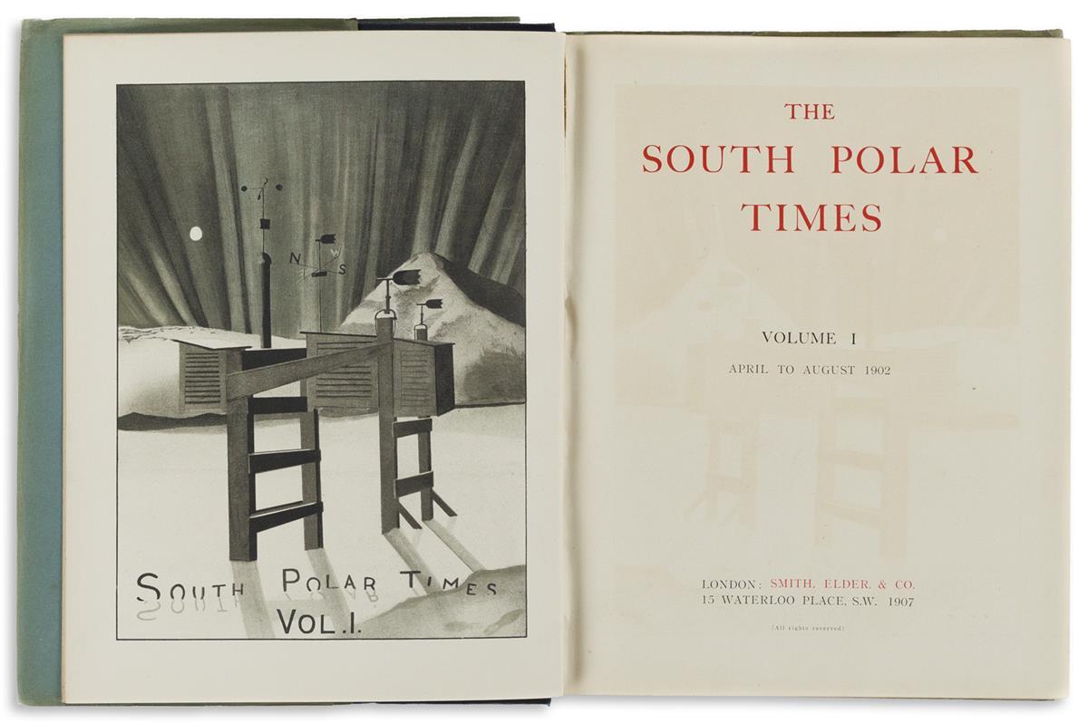 Shackleton, Ernest (1874-1922) and Robert F. Scott (1868-1912) South Polar Times.