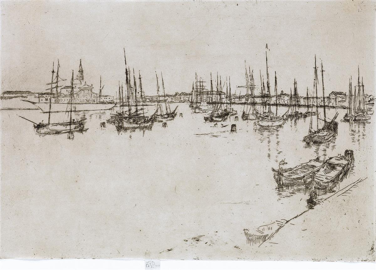 JAMES A. M. WHISTLER San Giorgio.
