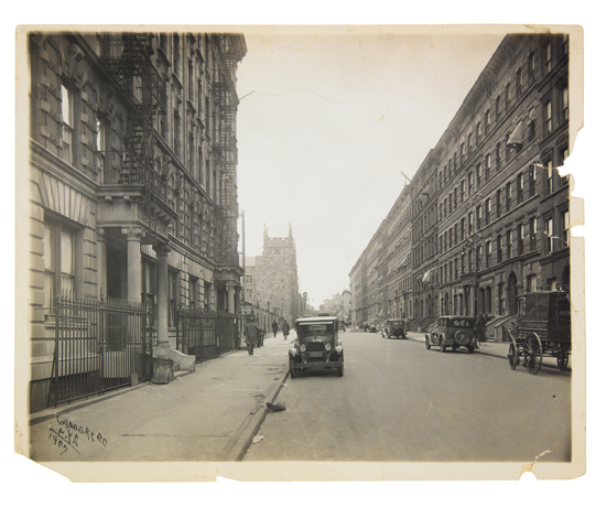 (PHOTOGRAPHY.) VAN DER ZEE, JAMES. Abysinian Baptist Church, NYC 1927.