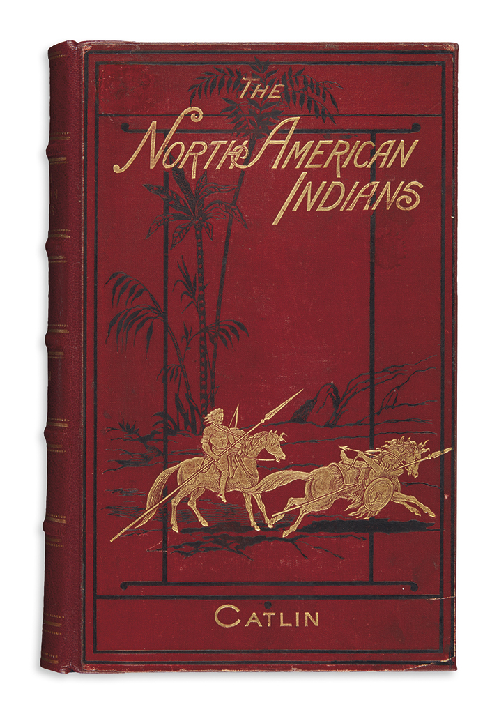 (AMERICAN-INDIANS)-Catlin-George-Illustrations-of-the-Manner
