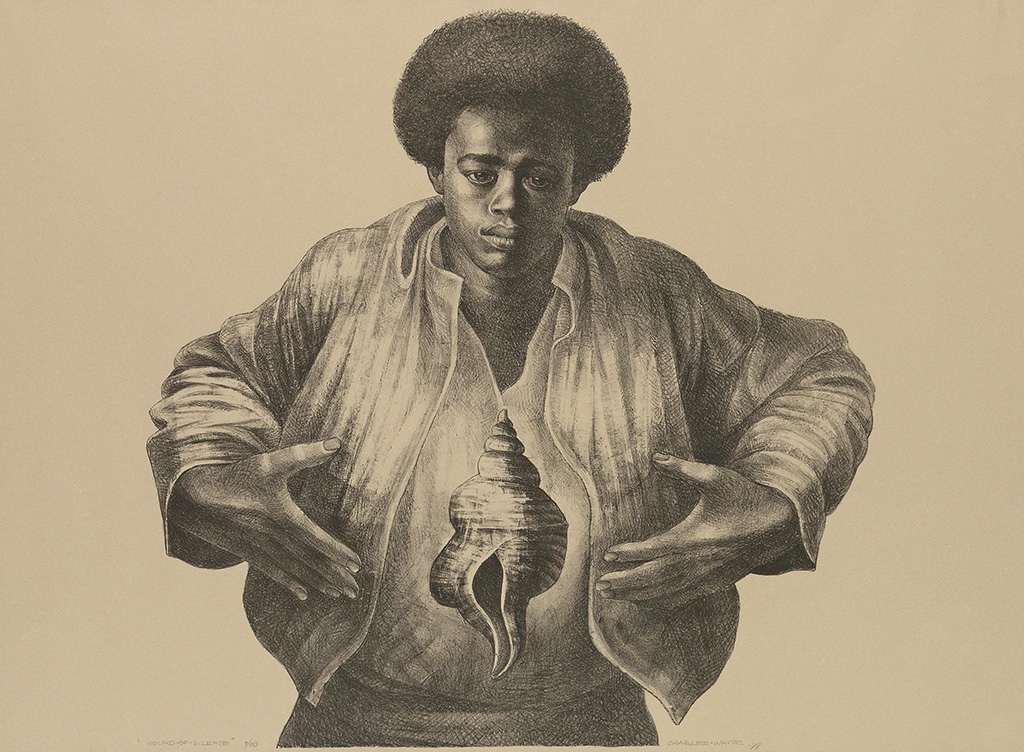 CHARLES WHITE (1918 - 1979) Sound of Silence.