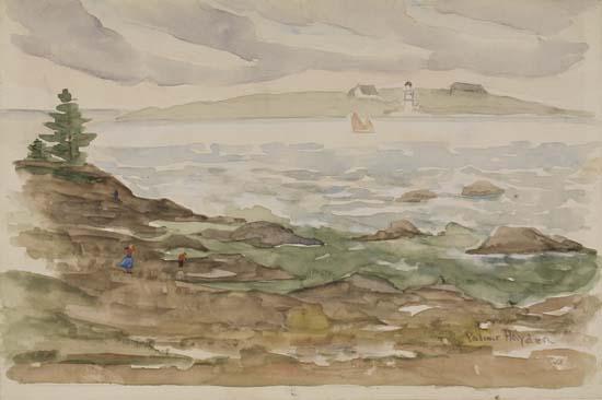 PALMER-HAYDEN-(1890---1973)-Ocean-Point-Maine