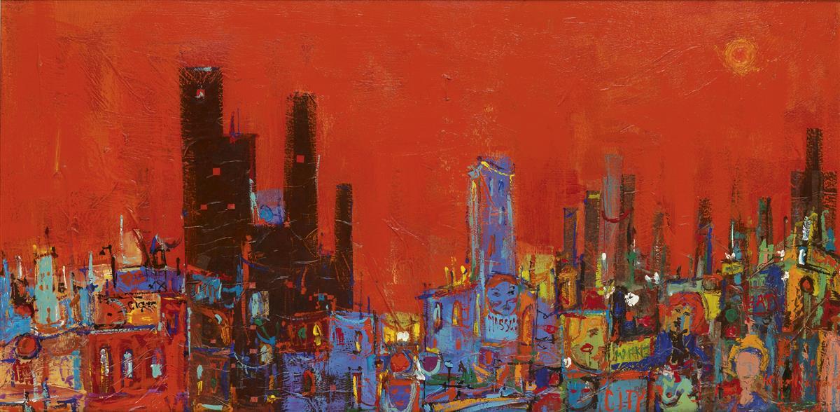 ALVIN-CARL-HOLLINGSWORTH-(1928---2000)-Women-City-Rouge