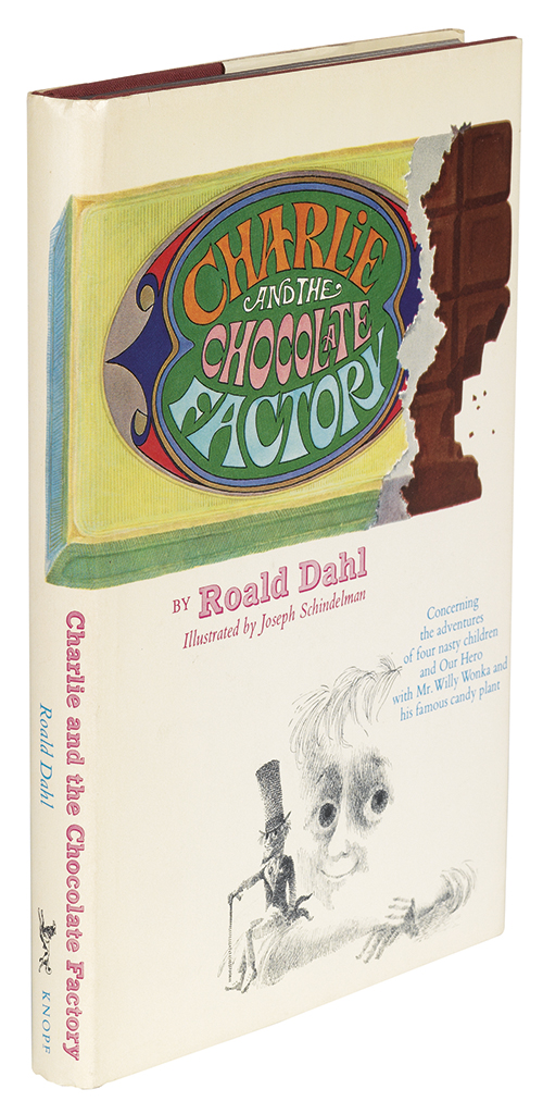 (CHILDRENS LITERATURE.) DAHL, ROALD. Charlie and the Chocolate Factory.