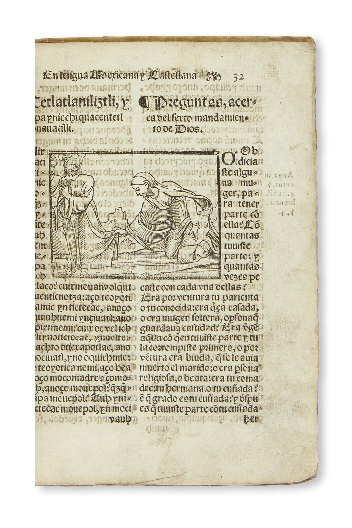 (MEXICAN IMPRINT--1565.) Molina, Alonso de. Confessionario mayor, en la lengua mexicana y castellana.