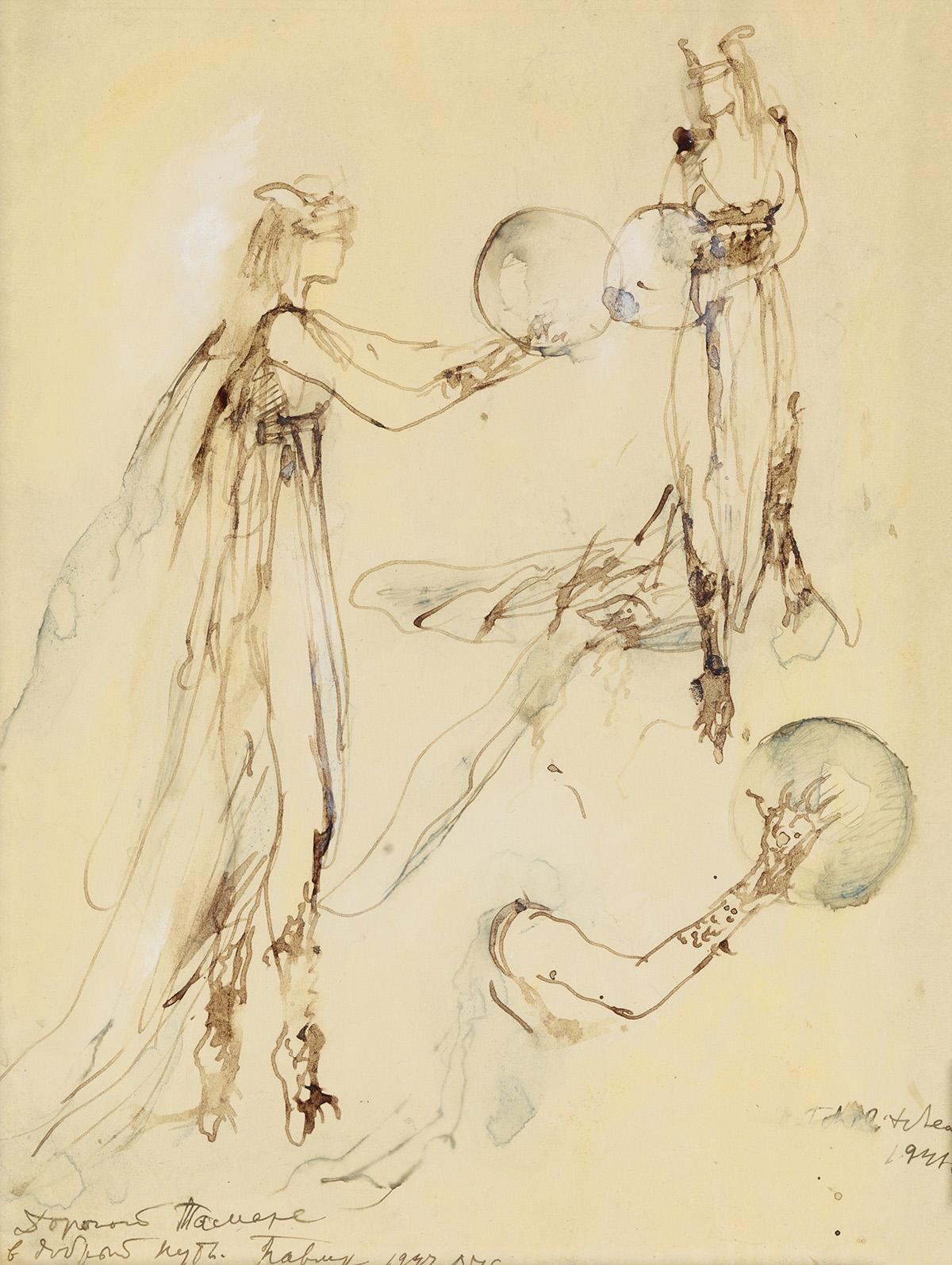 THEATER-PAVEL-TCHELITCHEW-The-Sorceress