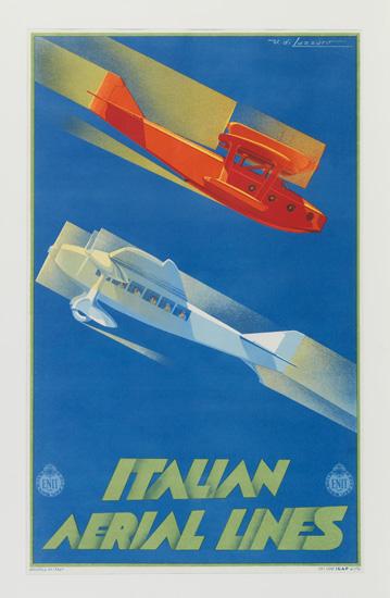 (AVIATION.) Italian Aerial Lines. Italian Aerial Lines.