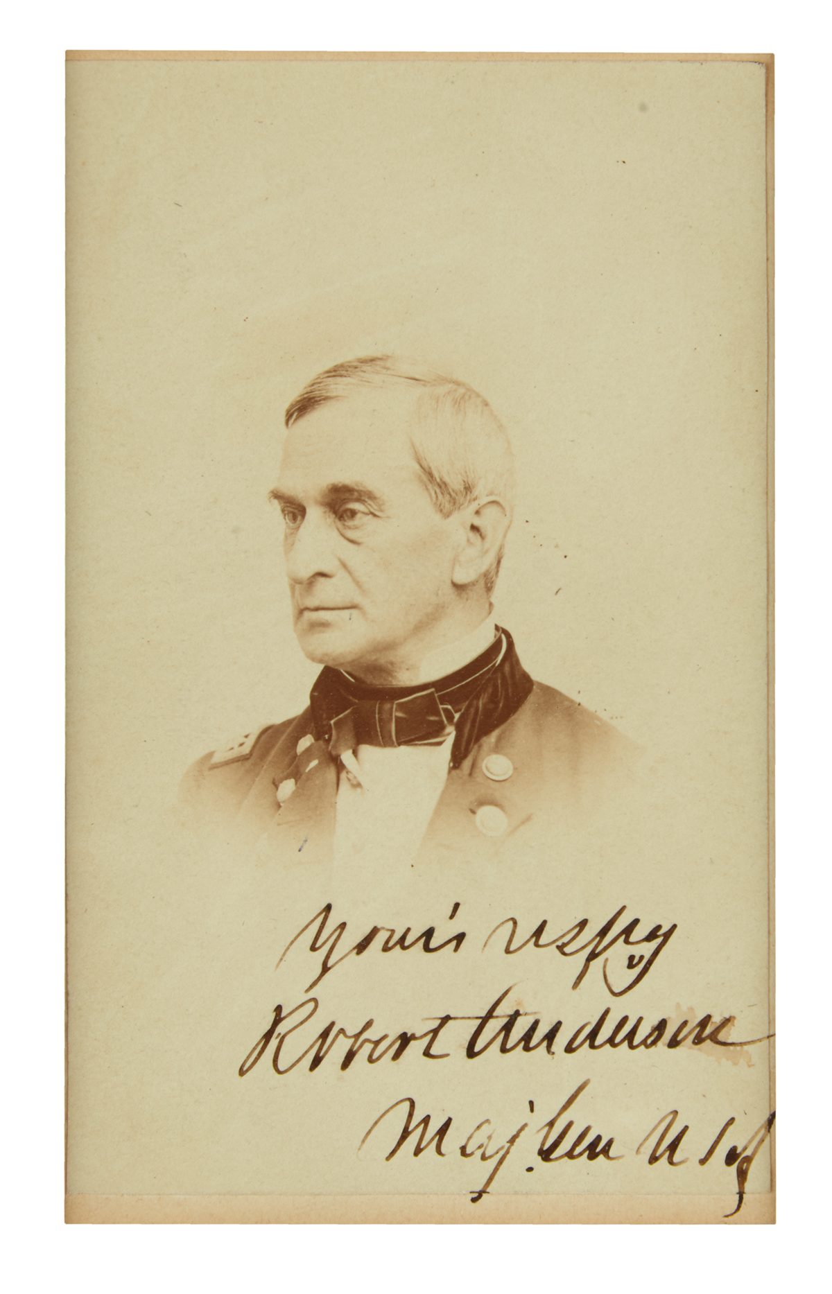 (CIVIL-WAR)-ANDERSON-ROBERT-Photograph-Signed-and-Inscribed-