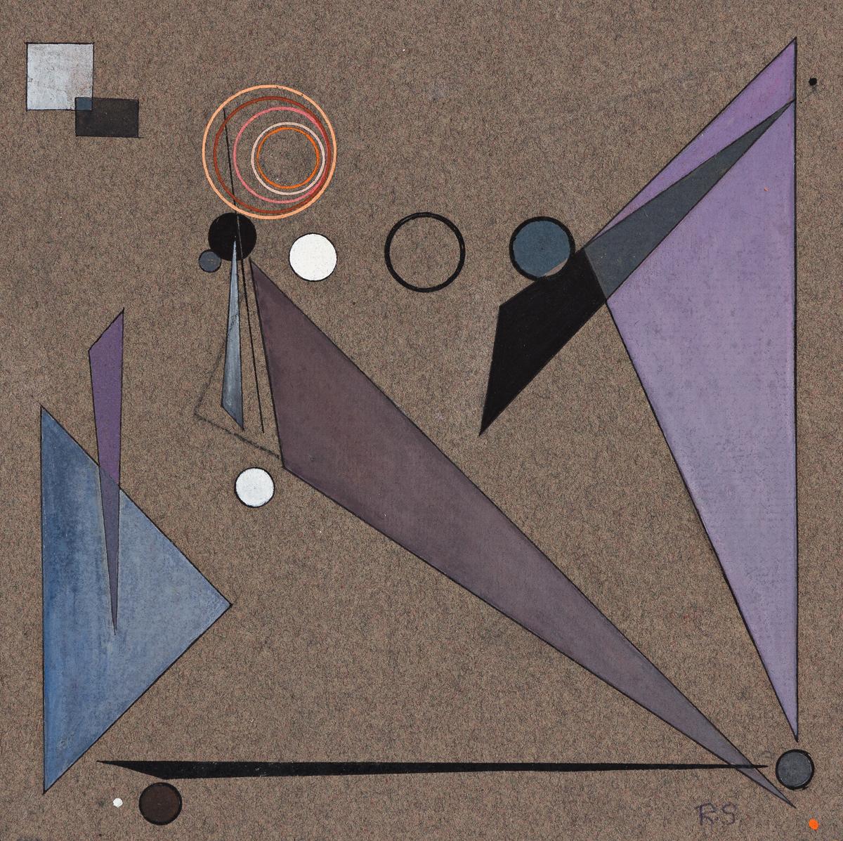ROLPH SCARLETT (1889 - 1984, CANADIAN/AMERICAN) Open Space.
