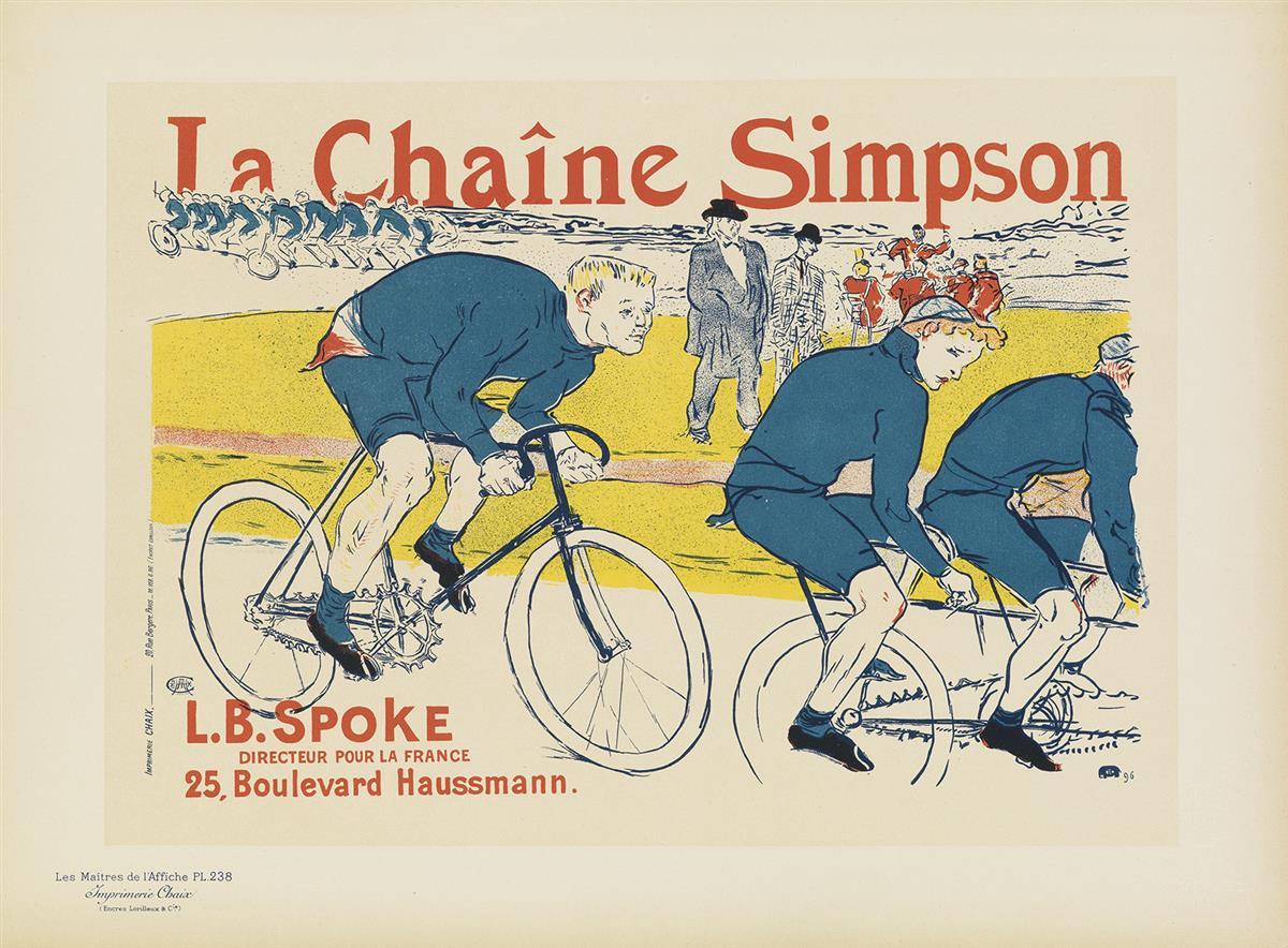 HENRI-DE-TOULOUSE-LAUTREC-(1864-1901)-LA-CHAÎNE-SIMPSON-Maît