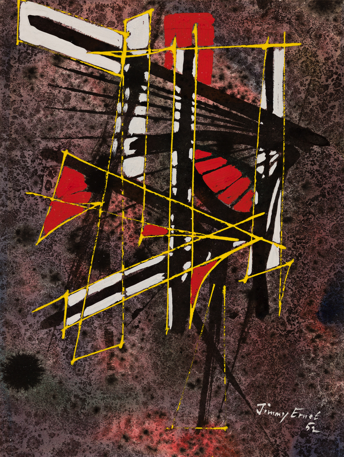 JIMMY ERNST (1920 - 1984, GERMAN/AMERICAN) Untitled.