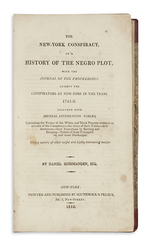 (SLAVERY-AND-ABOLITION)-Horsmanden-Daniel-The-New-York-Consp