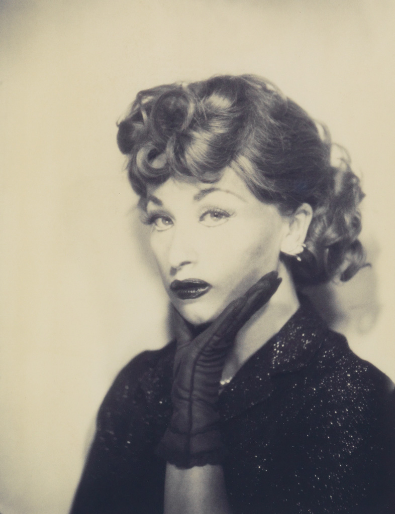 CINDY SHERMAN (1954- ) Self-Portrait as Lucille Ball.