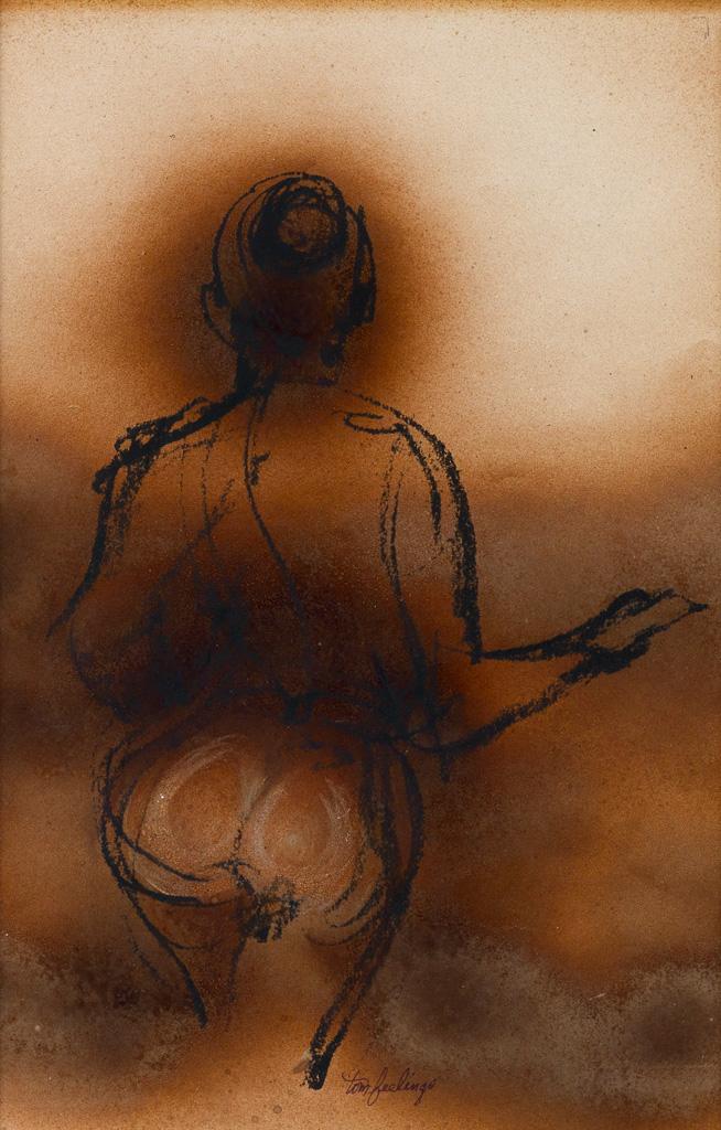TOM FEELINGS (1933 - 2003) Two drawings.