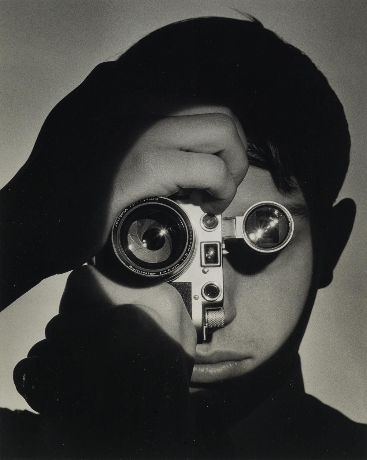 ANDREAS FEININGER (1906-1999) The Photojournalist (Dennis Stock), New York.