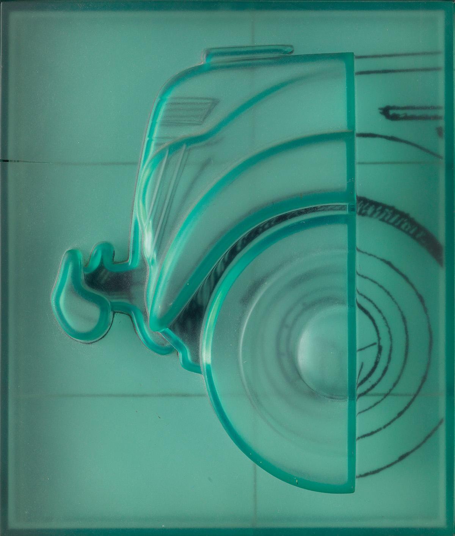 CLAES OLDENBURG Profile Airflow— Test Mold, Front End.