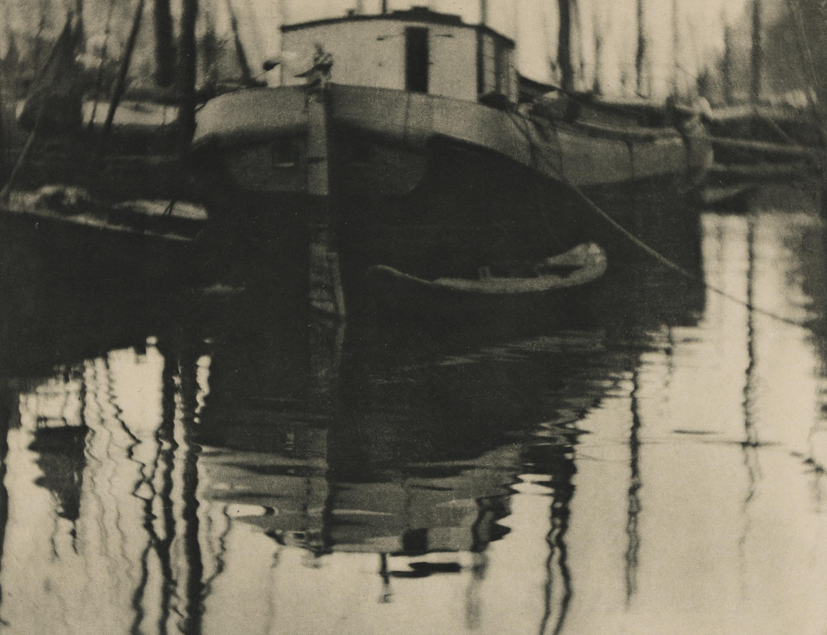 ALVIN LANGDON COBURN (1882-1966) A Canal in Rotterdam.