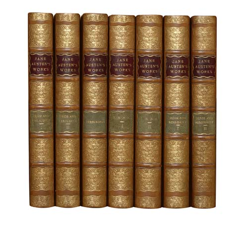 (SETS AND BINDINGS.) Austen, Jane. The Novels.