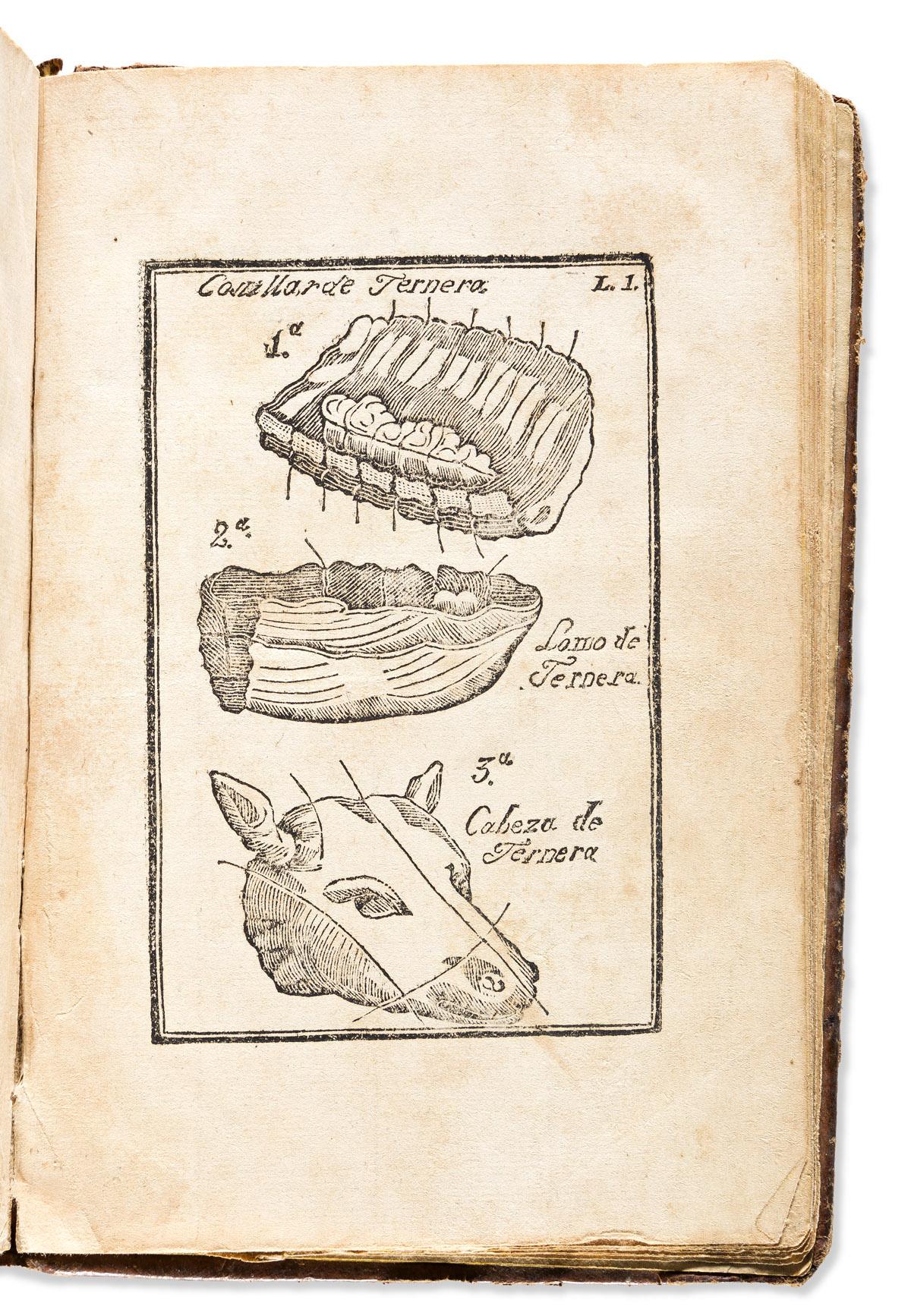 (MEXICAN COOKERY.) [Simón Blanquel.] Novisimo arte de cocina, ó Escelente coleccion de las mejores recetas.