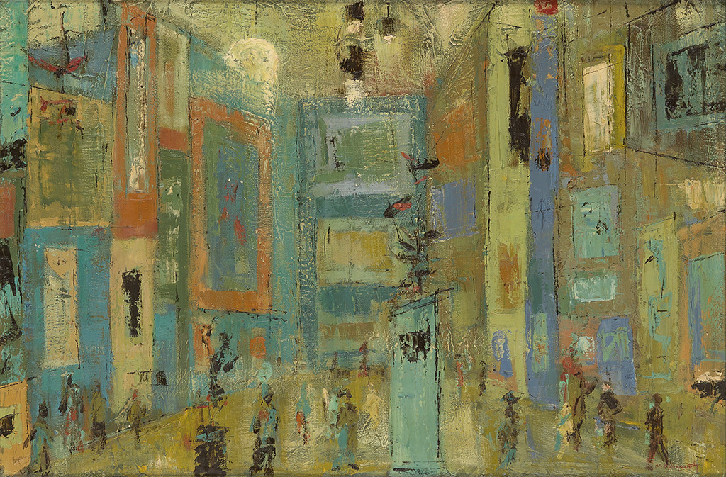 ALVIN CARL HOLLINGSWORTH (1928 - 2000) The Exhibition.