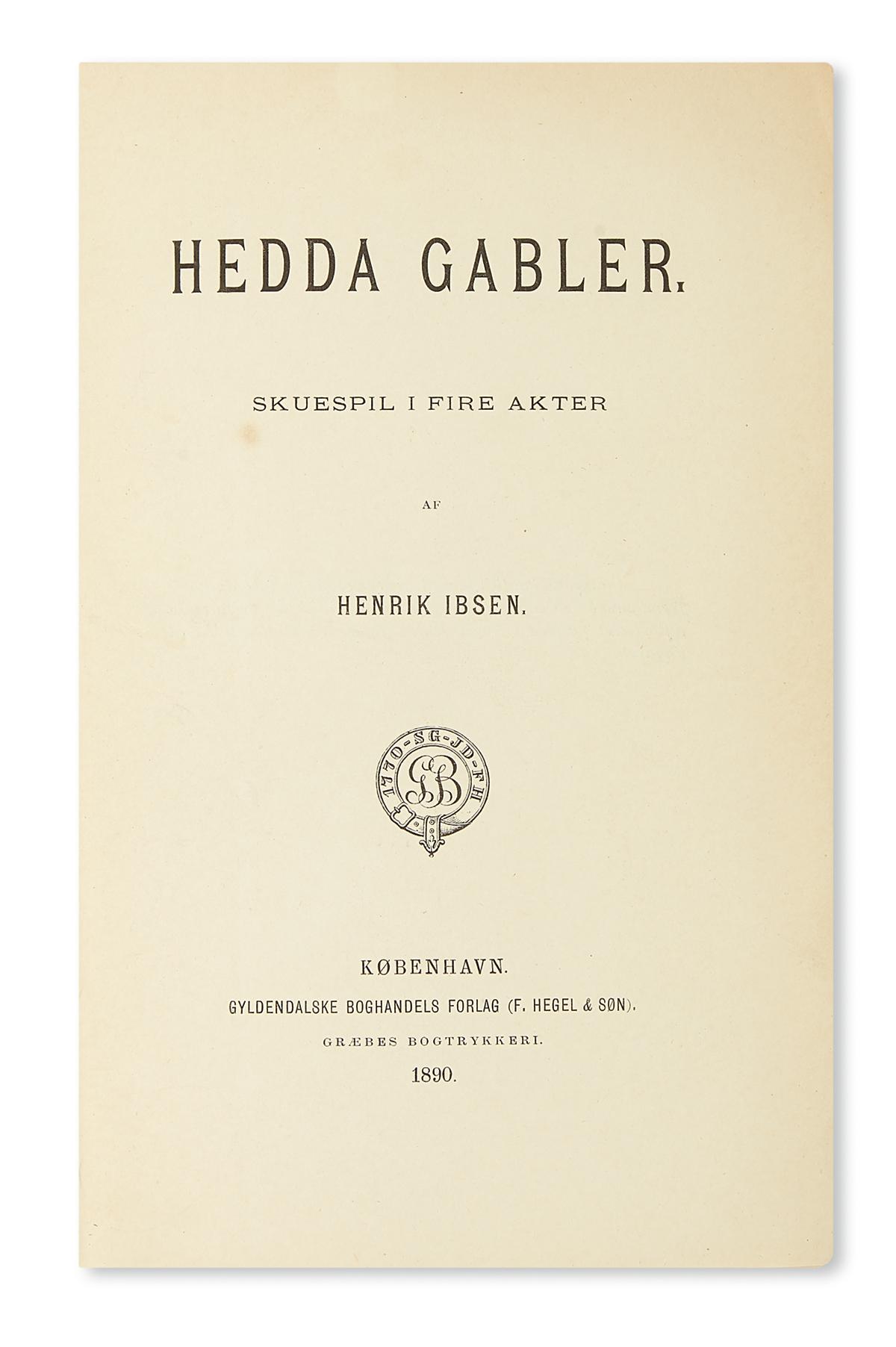 IBSEN-HENRIK-Hedda-Gabler