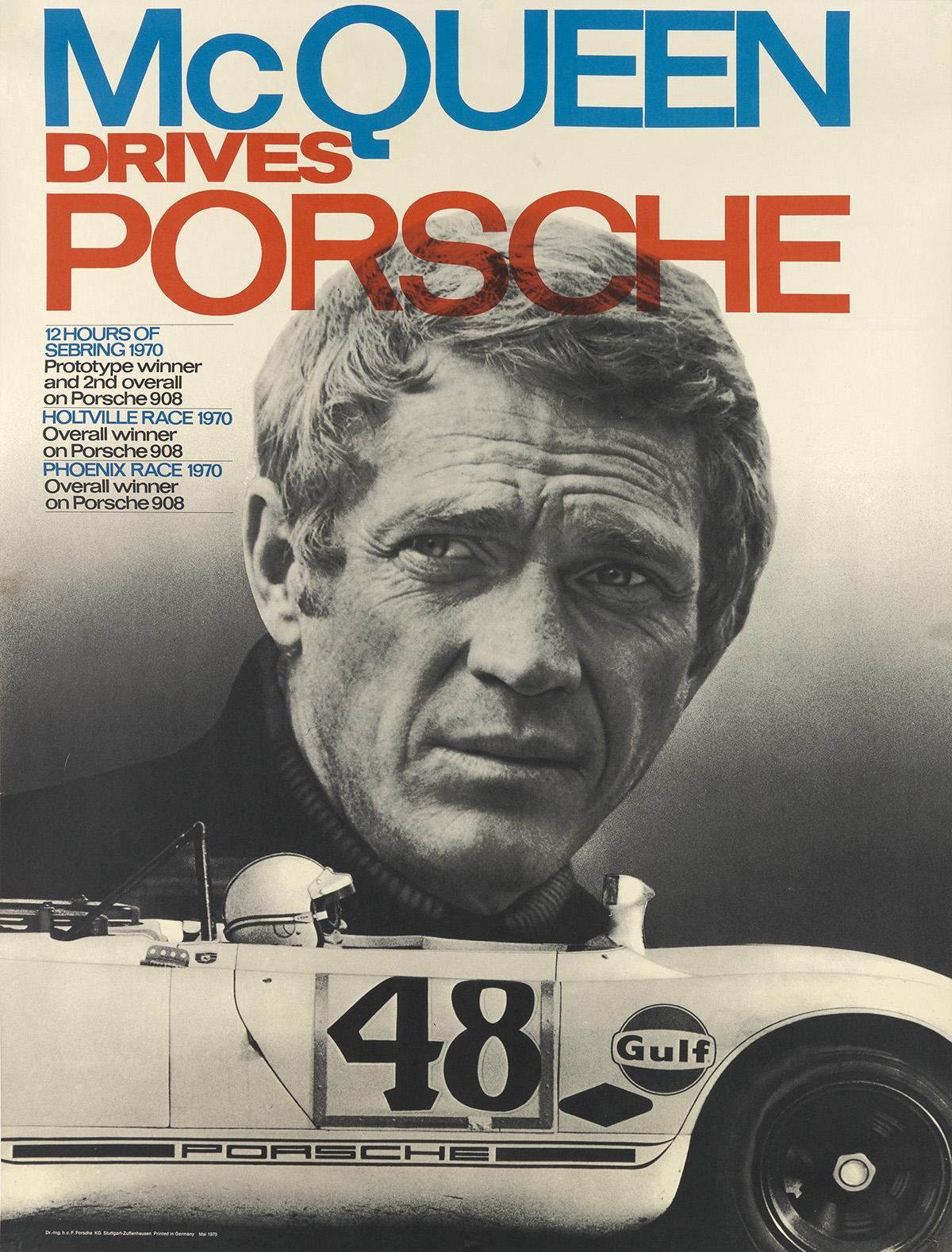 DESIGNER-UNKNOWN-MCQUEEN-DRIVES-PORSCHE-1970-39x30-inches-99