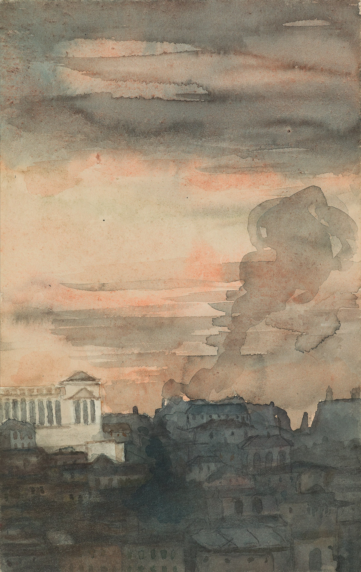 PAUL-ALBERT-BESNARD-(Paris-1849-1934-Paris)-A-View-of-Rome-w