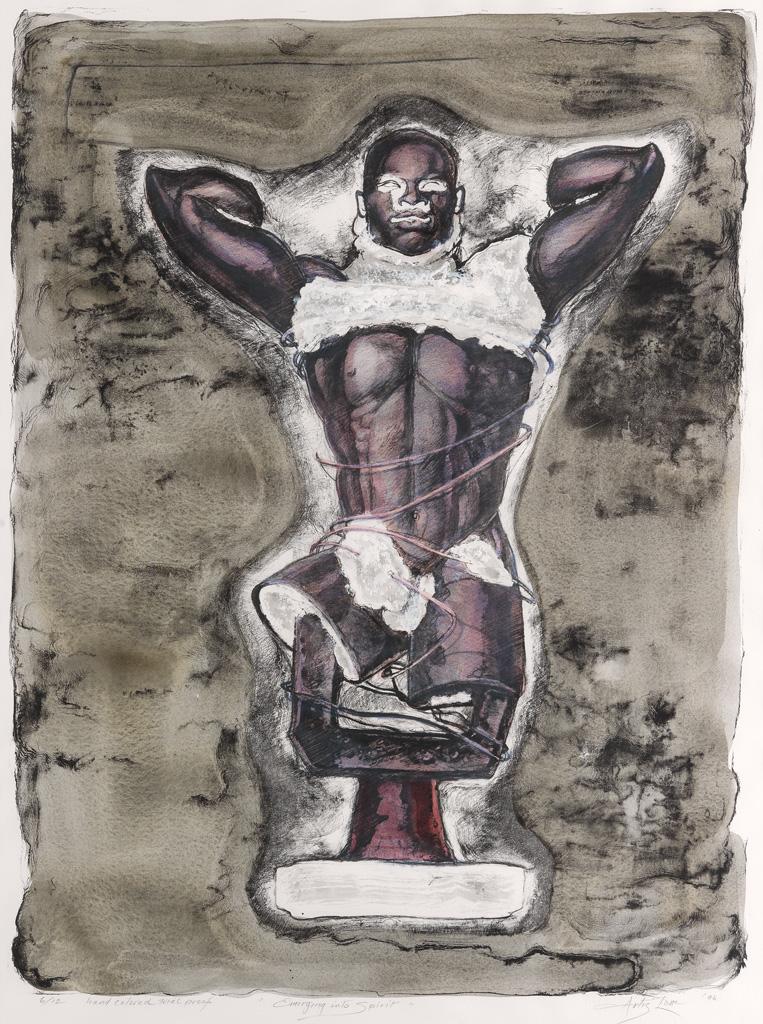 ARTIS LANE (1927 -  ) Emerging into Spirit.