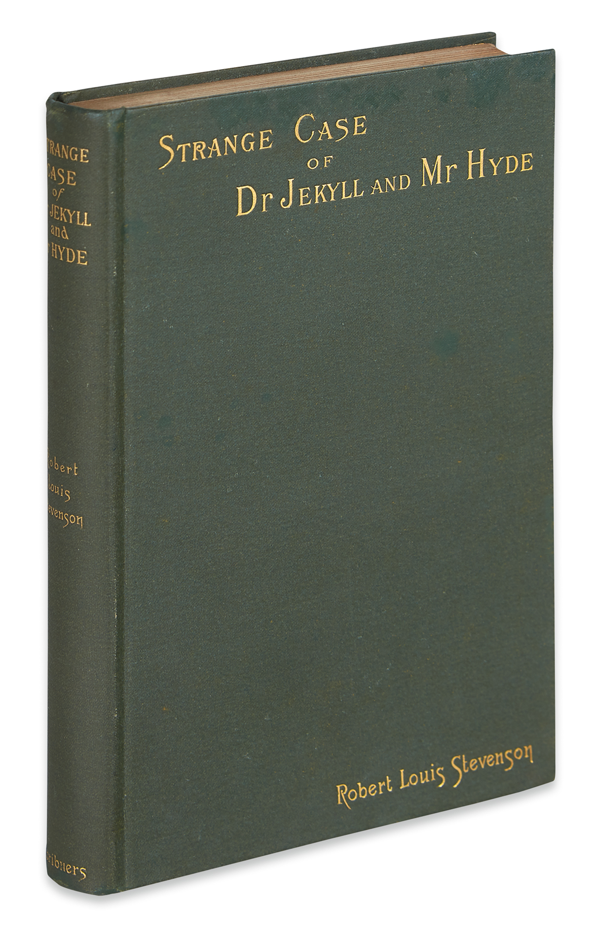STEVENSON, ROBERT LOUIS. Strange Case of Dr. Jekyll and Mr. Hyde.