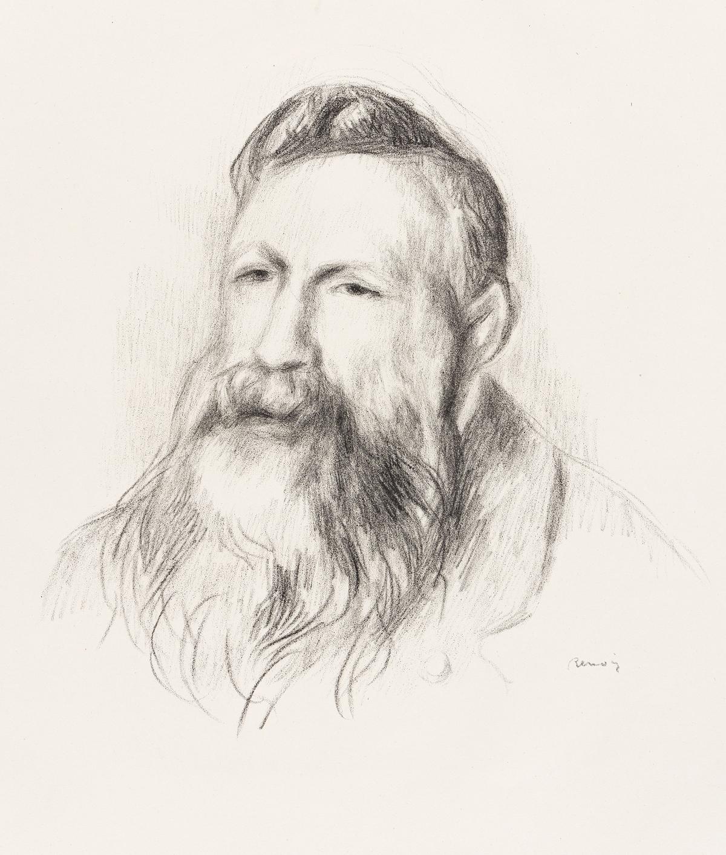 PIERRE-AUGUSTE RENOIR Auguste Rodin.