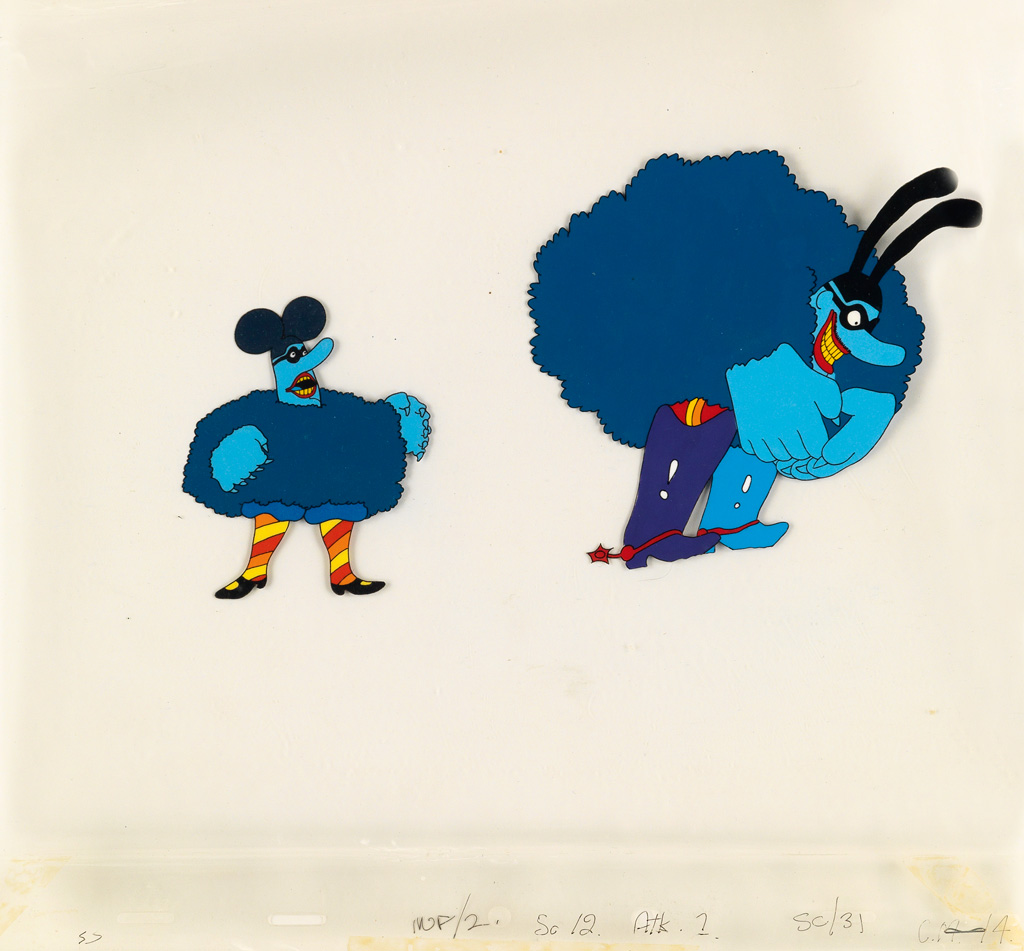 [THE-BEATLES---YELLOW-SUBMARINE]-Blue-Meanies