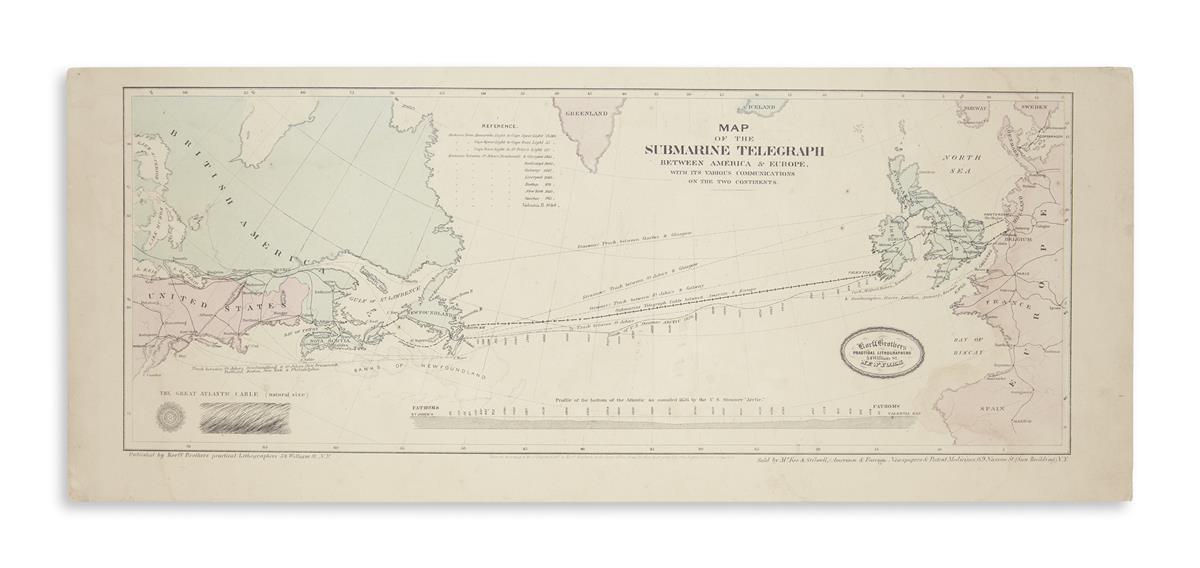 (ATLANTIC-TELEGRAPH)-Korff-Brothers-Map-of-the-Submarine-Tel