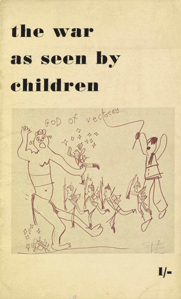 (KOKOSCHKA-OSKAR)-Siebert-J-G-The-War-as-Seen-By-Children